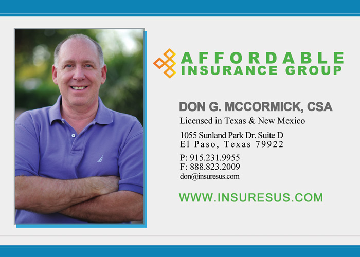 Insurance agent in el paso tx